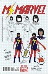 Ms. Marvel #1 Cover - Mckelvie Design Variant