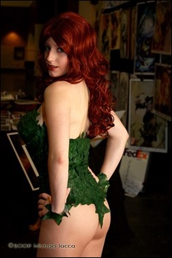 Abby Dark Star as Batman: Shadow of the Bat Poison Ivy (Photo by Michael Iacca)