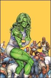She-Hulk #1 Cover - Oyum Variant