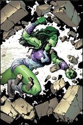 She-Hulk #1 Cover - Stegman Variant