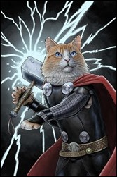 Thor: God of Thunder #19.NOW Cover - Parks Animal Variant