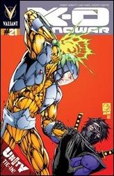 X-O Manowar #21 Cover
