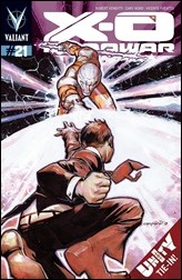 X-O Manowar #21 Cover - Nord Variant