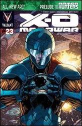 X-O Manowar #23 Cover