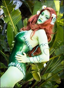 Abby Dark Star as Kotobukiya Poison Ivy (Photo by LJinto)