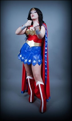 Neferet as Wonder Woman (Photo by Adrian Ummo)