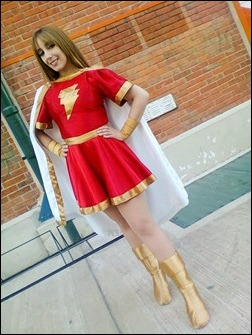 Neferet as Mary Marvel (Photo by Sebastian Gambolati)