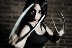 Neferet as X-23 (Photo by Estampida Fotografía)