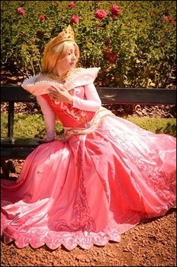 Neferet as Princess Aurora (Photo by Sebastian Gambolati)