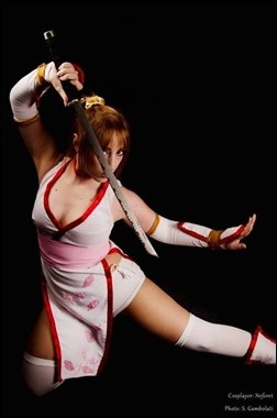 Neferet as Kasumi (Photo by Sebastian Gambolati)