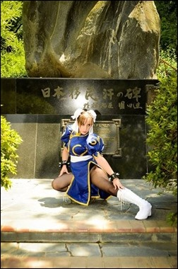 Neferet as Chun Li - Street Fighter (Photo by Sebastian Gambolati)