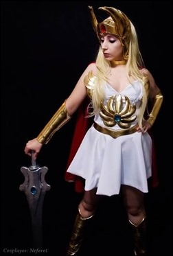 Neferet as She-Ra, Princess of Power (Photo by Sebastian Gambolati)