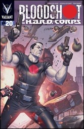 Bloodshot and H.A.R.D. Corps #20 Cover - Molina Pullbox