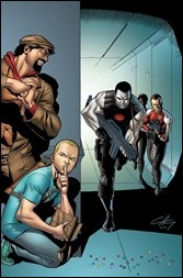 Bloodshot and H.A.R.D. Corps #20 Cover - Henry Variant