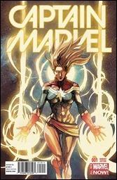 Captain Marvel #1 Cover - Yu Variant