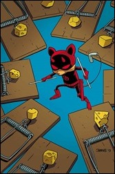 Daredevil #1 Cover - Young Animal Variant
