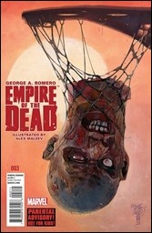 George Romero's Empire of the Dead #3 Cover