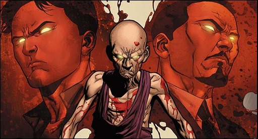 Harbinger: Bleeding Monk #0