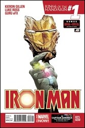 Iron Man #23.NOW Cover