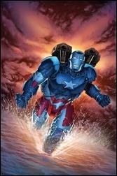 Iron Patriot #1 Cover - Perkins Variant