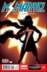 Ms. Marvel #2 Cover