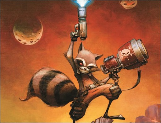 First Look at Rocket Raccoon #1 by Skottie Young Coming ...