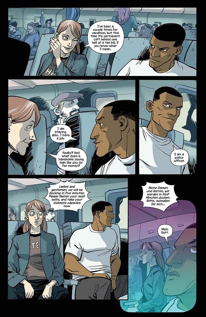 Preview  The Fuse  1 By Antony Johnston And Justin Greenwood