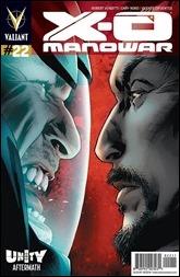 X-O Manowar #22 Cover