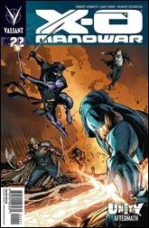 X-O Manowar #22 Cover - Conrad Variant