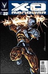 X-O Manowar #22 Cover - Signature Series Variant