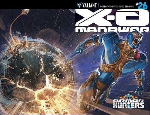 X-O Manowar #26 Chromium Cover