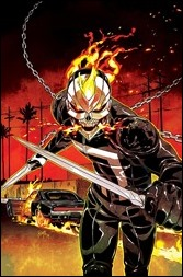 All-New Ghost Rider #2 Cover - Smith Variant
