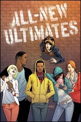 All-New Ultimates #1 Cover - Marquez Variant