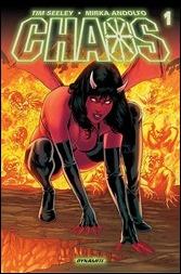 Chaos #1 Cover - Rafael