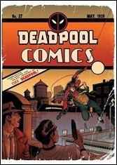 Deadpool #27 Cover - Adams Variant