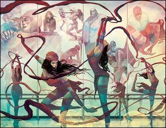 Elektra #1 Preview 1