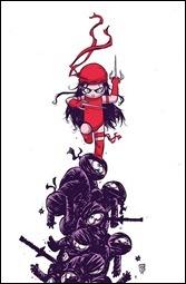 Elektra #1 Cover - Young Variant