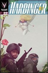 Harbinger #22 Cover - Montoya Variant