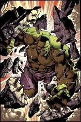 Hulk #1 Cover - Bagley Variant