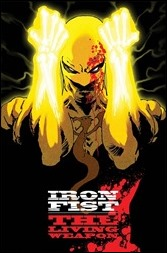 Iron Fist: The Living Weapon #1 Cover