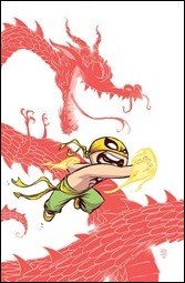 Iron Fist: The Living Weapon #1 Cover - Young Variant