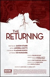 The Returning #1 Preview 1