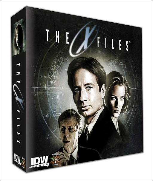 THE X-FILES Big Box Board Game