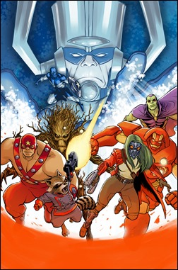 100th Anniversary Special Guardians of the Galaxy #1 Cover