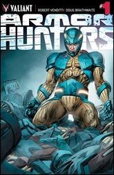 Armor Hunters #1 Cover - Braithwaite Variant