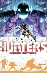 Armor Hunters #1 Cover - Hairsine Variant