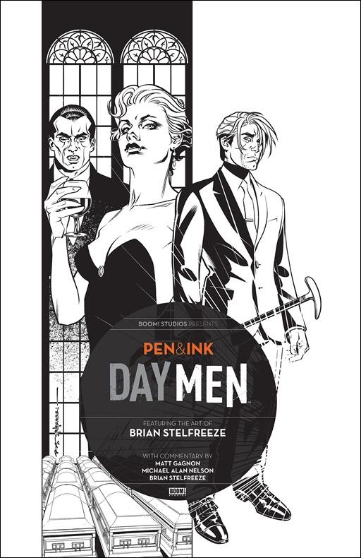 Day Men: Pen & Ink #1