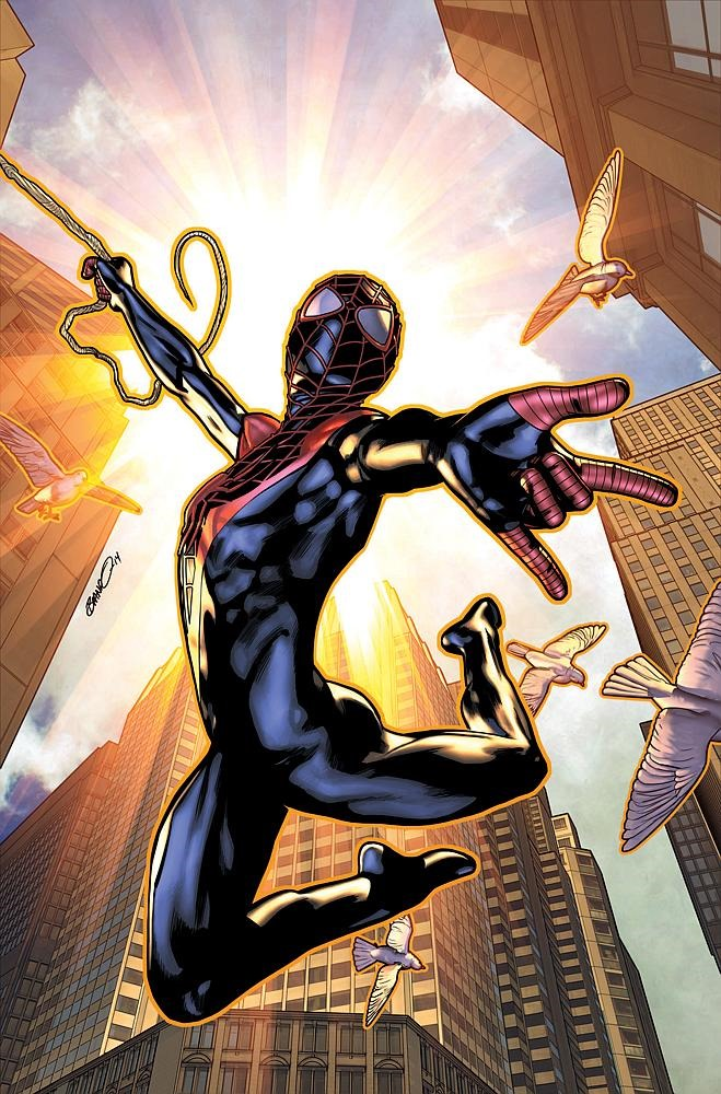 Preview - Miles Morales: Ultimate Spider-Man #1 by Bendis ...