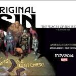 Marvel's ORIGINAL SIN Event Gets Huge Mass Media Promotional Push
