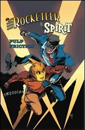Rocketeer / The Spirit: Pulp Friction Cover